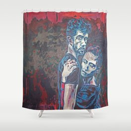 Well Wisher Conflict | 2016 Shower Curtain