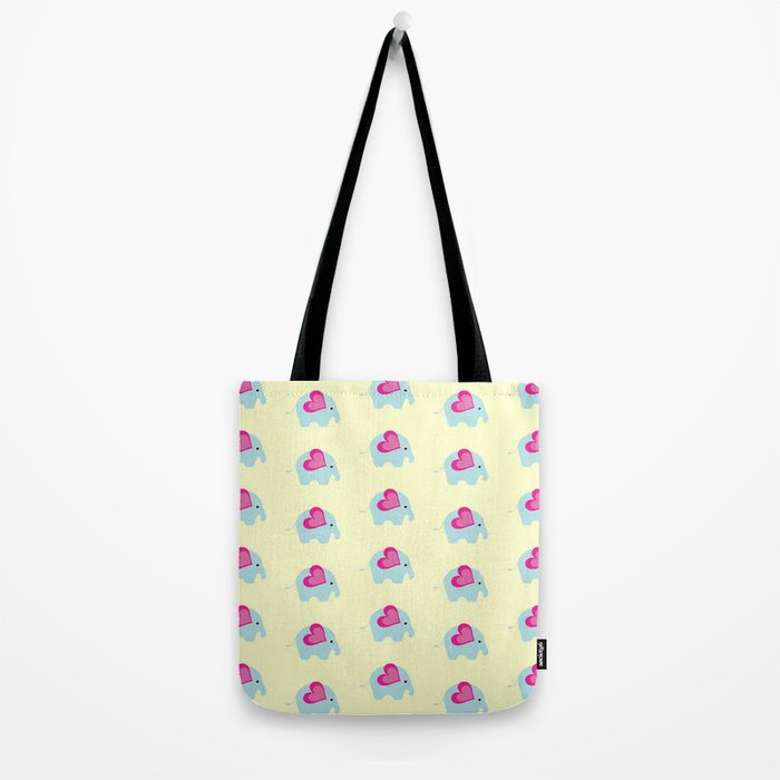 The Tiny Elephant Tote Bag