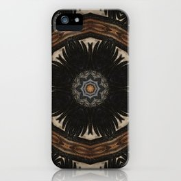Shaman // Visionary Art Sacred Geometry Spirit Consciousness Earth Energy Healing iPhone Case