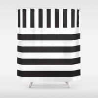 piano Shower Curtains featuring Piano by Vadeco