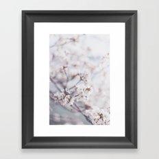 . flower day dream . Framed Art Print