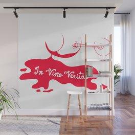 In Vino Veritas Wall Mural