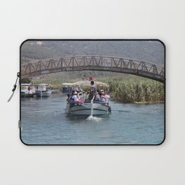 Boat Tour Along the Azmak Akyaka Turkey Laptop Sleeve