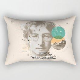 john lenon-imagine Rectangular Pillow
