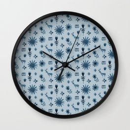 Kristin's Meadow Wall Clock