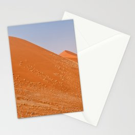 The red dunes of Sossusvlei Stationery Cards