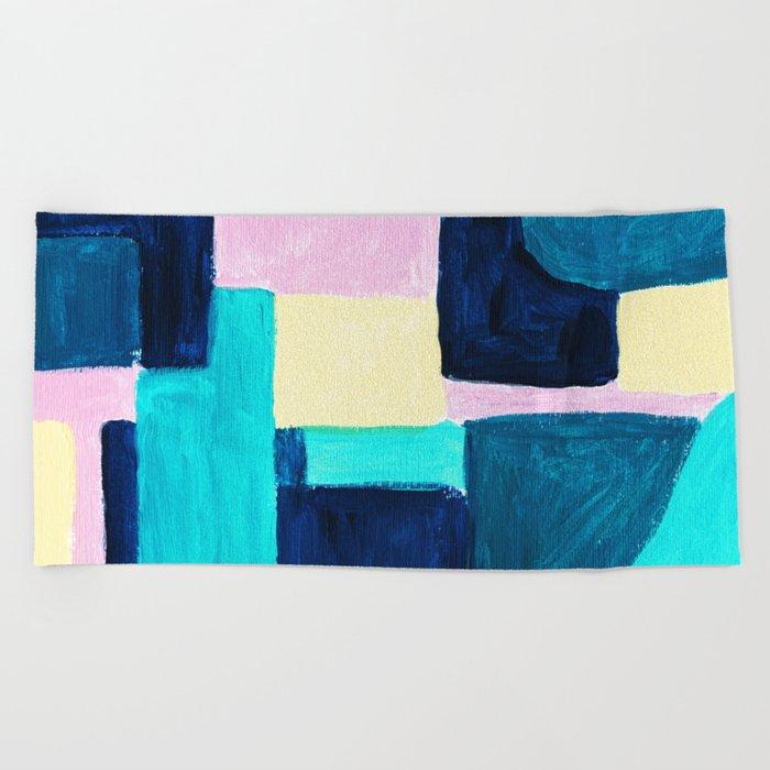 Abstract Avant-garde Painting Beach Towel By Ulyanaandreeva Society6