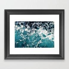 Churning Water Framed Art Print