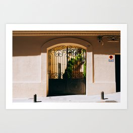 Gràcia - Barcelona, Spain - #9 Art Print