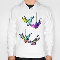 the lights Hoodies featuring Lights by Sofia Gerona