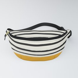 Fall Pumpkin x Stripes Fanny Pack