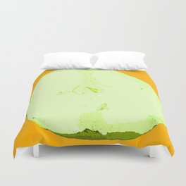 Pear Twin One Duvet Cover