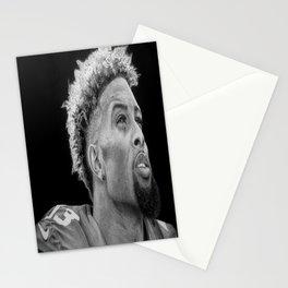 Odell Beckham Jr. Drawing Stationery Cards