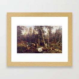 Matter of Course Framed Art Print