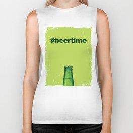 Beer Time Biker Tank