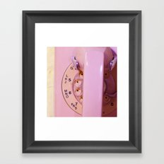 Pink Phone Framed Art Print