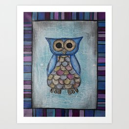 Owl Hoot Art Print