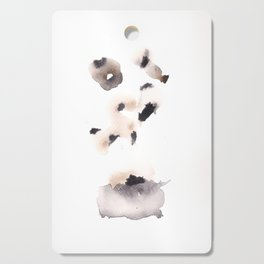 Temperance- 151124  Abstract Watercolour Cutting Board