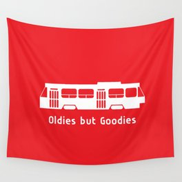 Oldies but Goodies - Streetcar, Toronto, ON, Canada Wall Tapestry