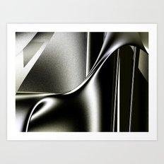 Sinuosity Art Print