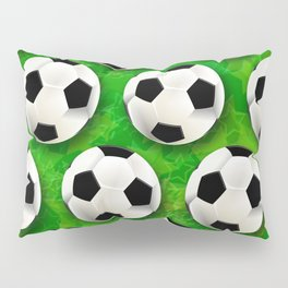 Soccer Ball Football Pattern Pillow Sham
