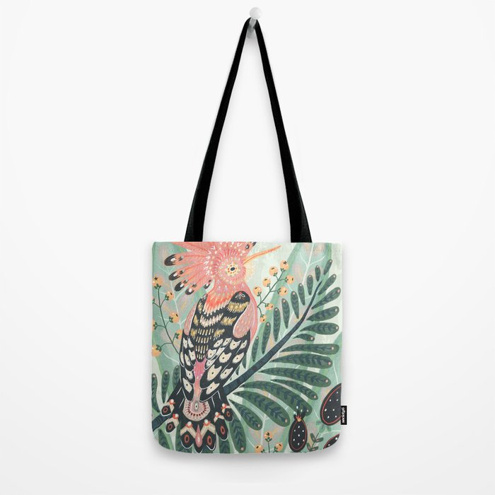 Hoopoe Bird Tote Bag