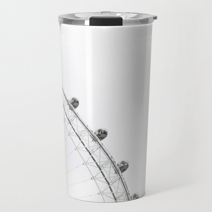 London Eye Monochrome Travel Mug