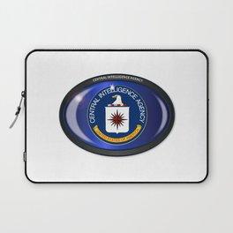 CIA Flag Oval Laptop Sleeve