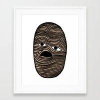 potato Framed Art Prints featuring Potato by David Ernst