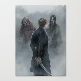 The Enemy of my Enemy Canvas Print