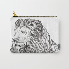 Feather Lion Carry-All Pouch
