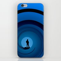 bond iPhone & iPod Skins featuring Bond Man by Steve Purnell