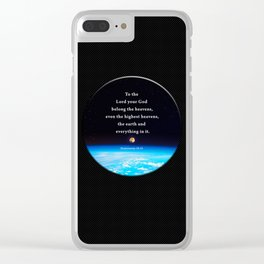 The Highest Heavens Clear iPhone Case