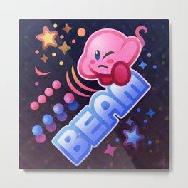 Kirby Beam Metal Print