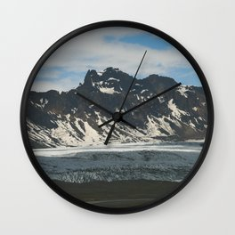 lost in Iceland Wall Clock