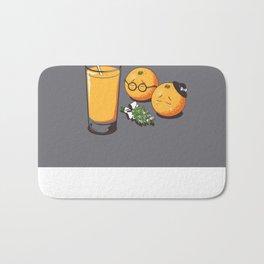 Oranges Are Grieving Bath Mat