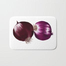 Red Onion Bath Mat