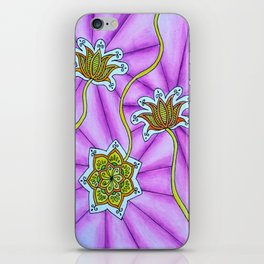 Lotus Flowers iPhone Skin