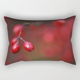 Red autumn 1 Rectangular Pillow