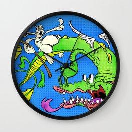 The Luck Dragon Wall Clock
