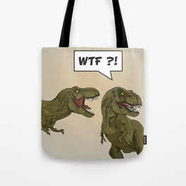 T-Rex - Dinosaur Tote Bag