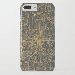 Columbus map iPhone Case