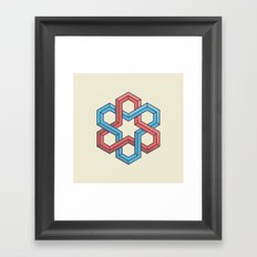 Mathametric Framed Art Print