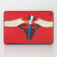 medical iPad Cases featuring Medical Corps Snake by ArtSchool