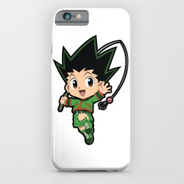 Chibi Gon Freecss iPhone Case