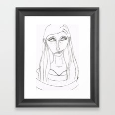 Malena Framed Art Print