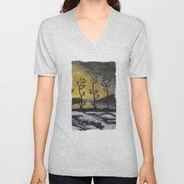 Forever lonely trees (The Danish Girl interpretation) Unisex V-Neck