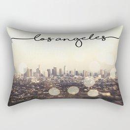 California, Los Angeles, beach, seaside, ocean, surf, downtown, Cali, SoCal, west coast, sky, summer Rectangular Pillow