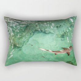 Look at the Shark Rectangular Pillow