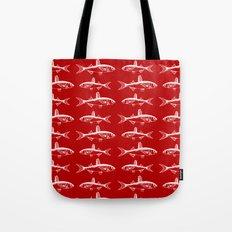 Ruby Fish Tote Bag